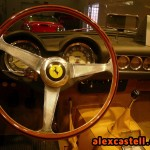 Interior del Ferrari 250 GT Spider California