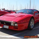 Ferrari 288 GTO rojo