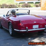 Ferrari 250 GT Spider California entrando en Fiorano