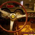 Interior del Ferrari 250 GT Spider California